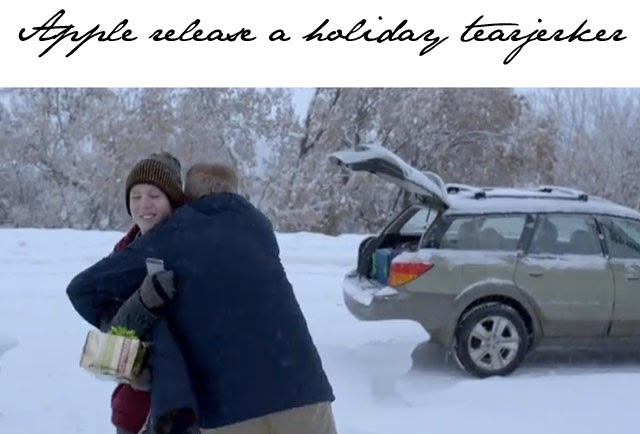 apples 2013 christmas commercial its a tearjerker