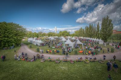 windmill garden show malmö sweden scandinavia
