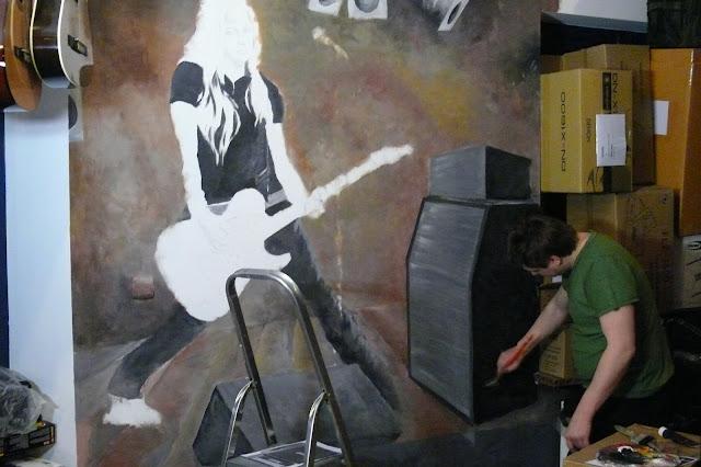 Malarstwo ścienne, malarstwo dekoracyjne czyli malowanie obrazu na ścianie