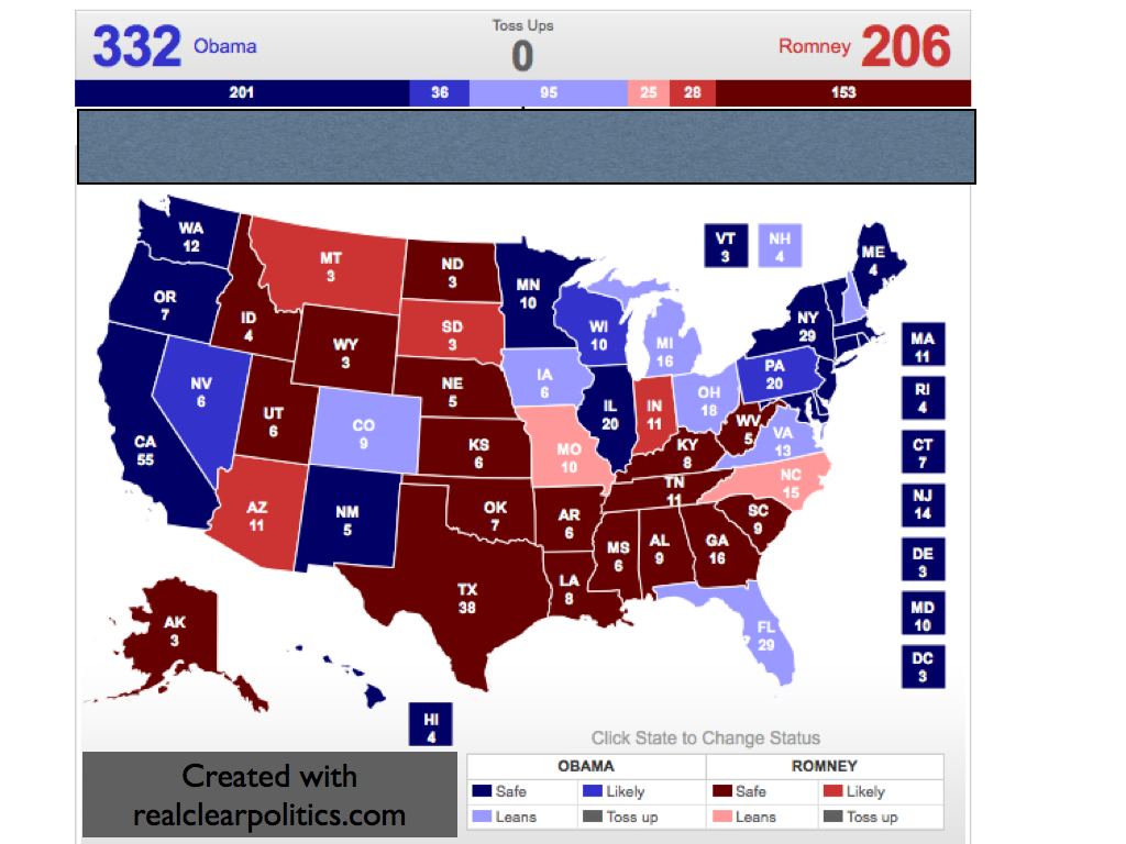 electoral vote predictor the latest 2012 big map the supreme era of john roberts