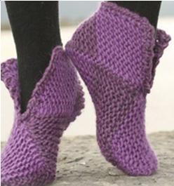 des chaussons bien chauds