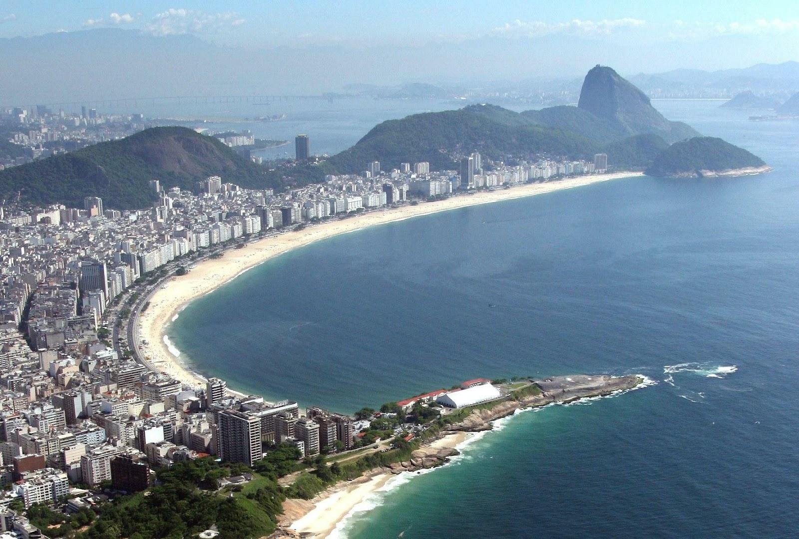 Em dezembro, a intenção dos brasileiros em viajar bateu recorde. Fonte: Turismo Rio de Janeiro