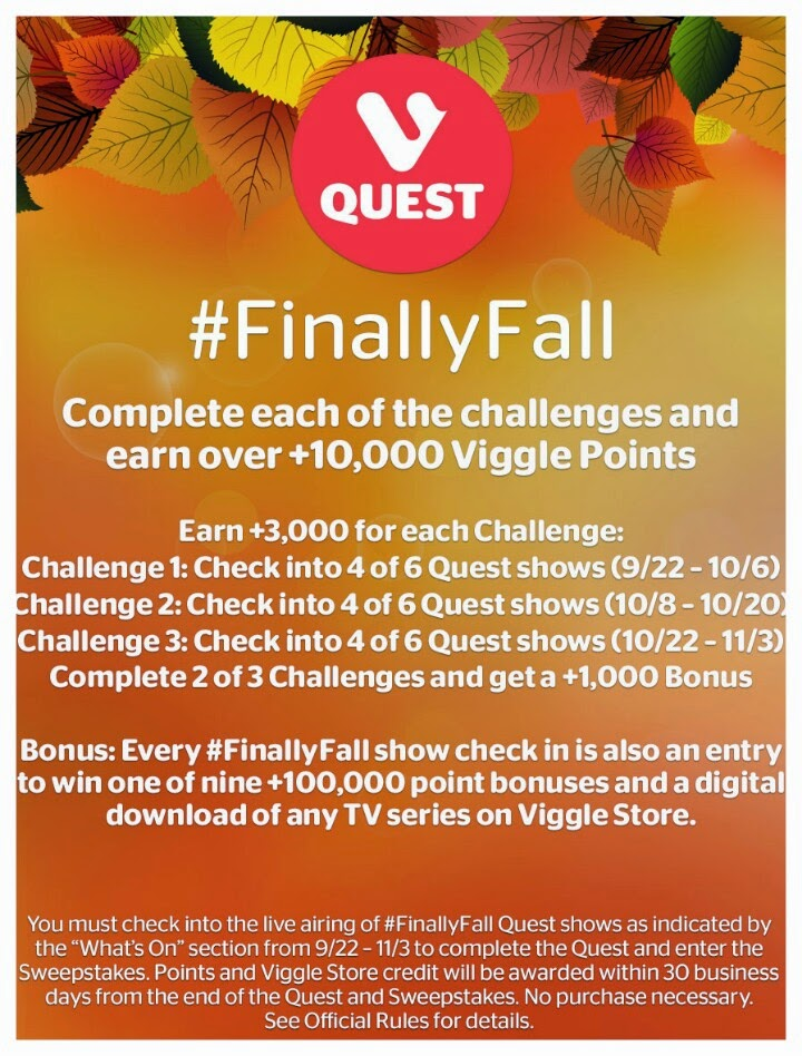 FinallyFall, Viggle Quest, Viggle Mom, Finally Fall Viggle Quest