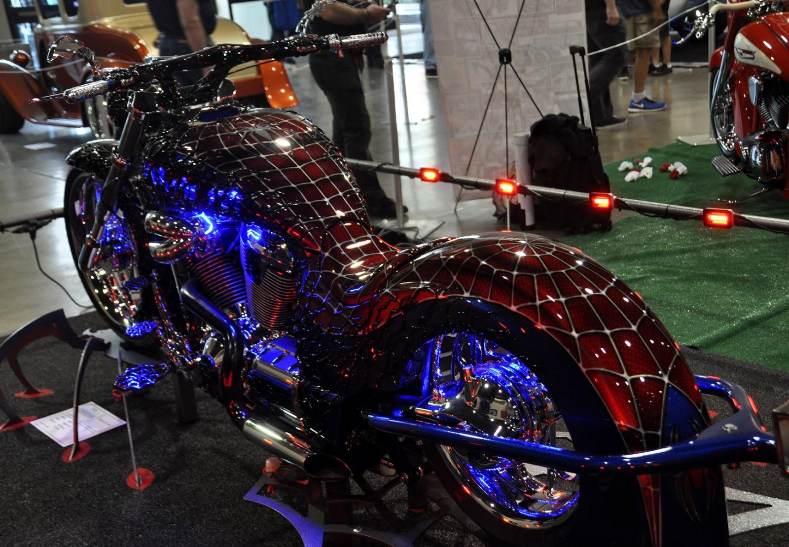 Jin botol the spider man bike - Spider man moto ...