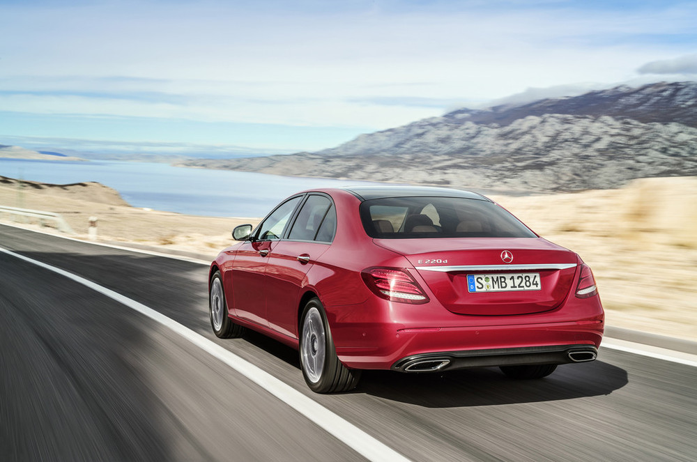 2017 mercedes benz e class starts from 45 303 in germany for Mercedes benz in germany