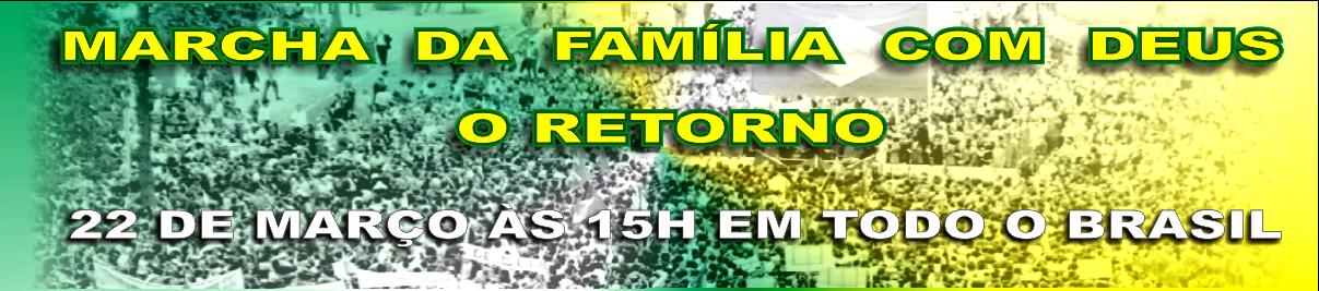 Marcha das Famílias com Deus pela Liberdade