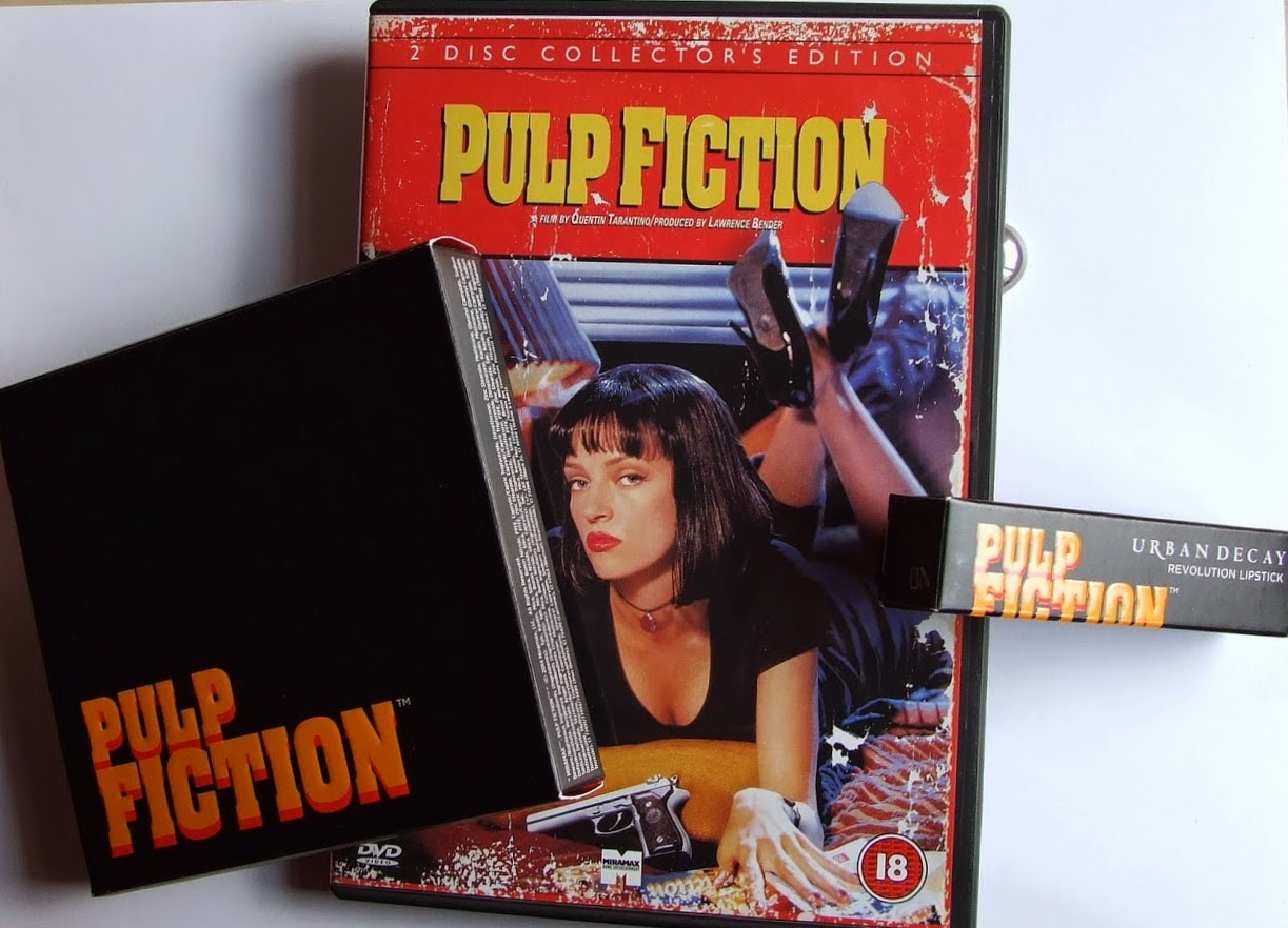 Urban decay pulp fiction collection swatches review