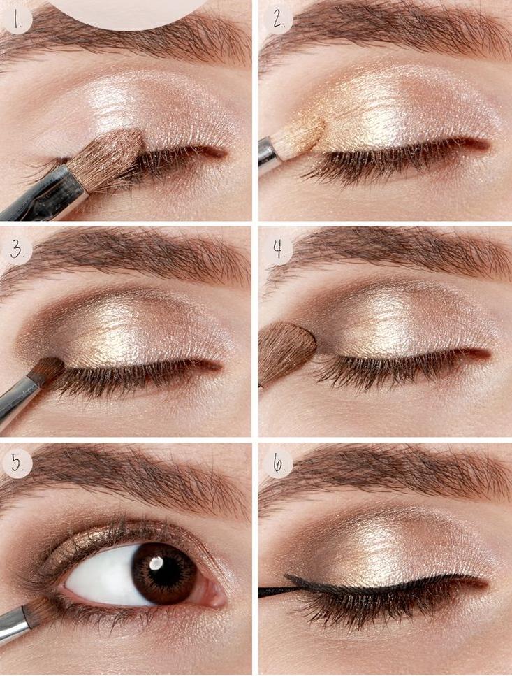 Te dejamos con algunas ideas para que puedas maquillarte los ojos paso a paso