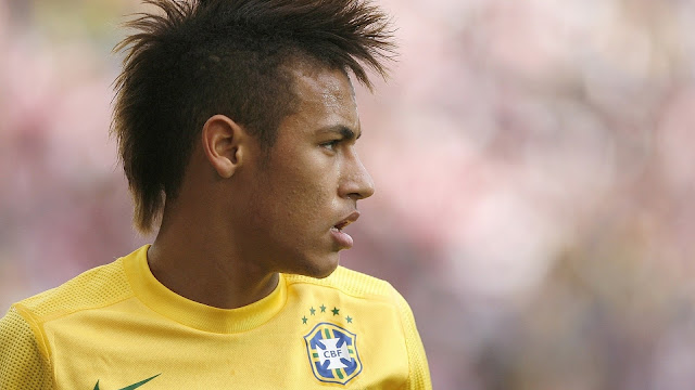 Neymar Football Star Player