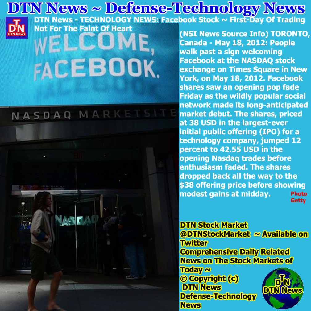 Facebook Stock News 2012