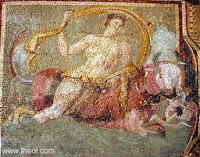 Mosaico de la casa de la barca de Psiqué. Periodo Imperial Romano. Museum, Antakya, Turkey
