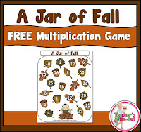 A Jar of Fall Multiplication Game