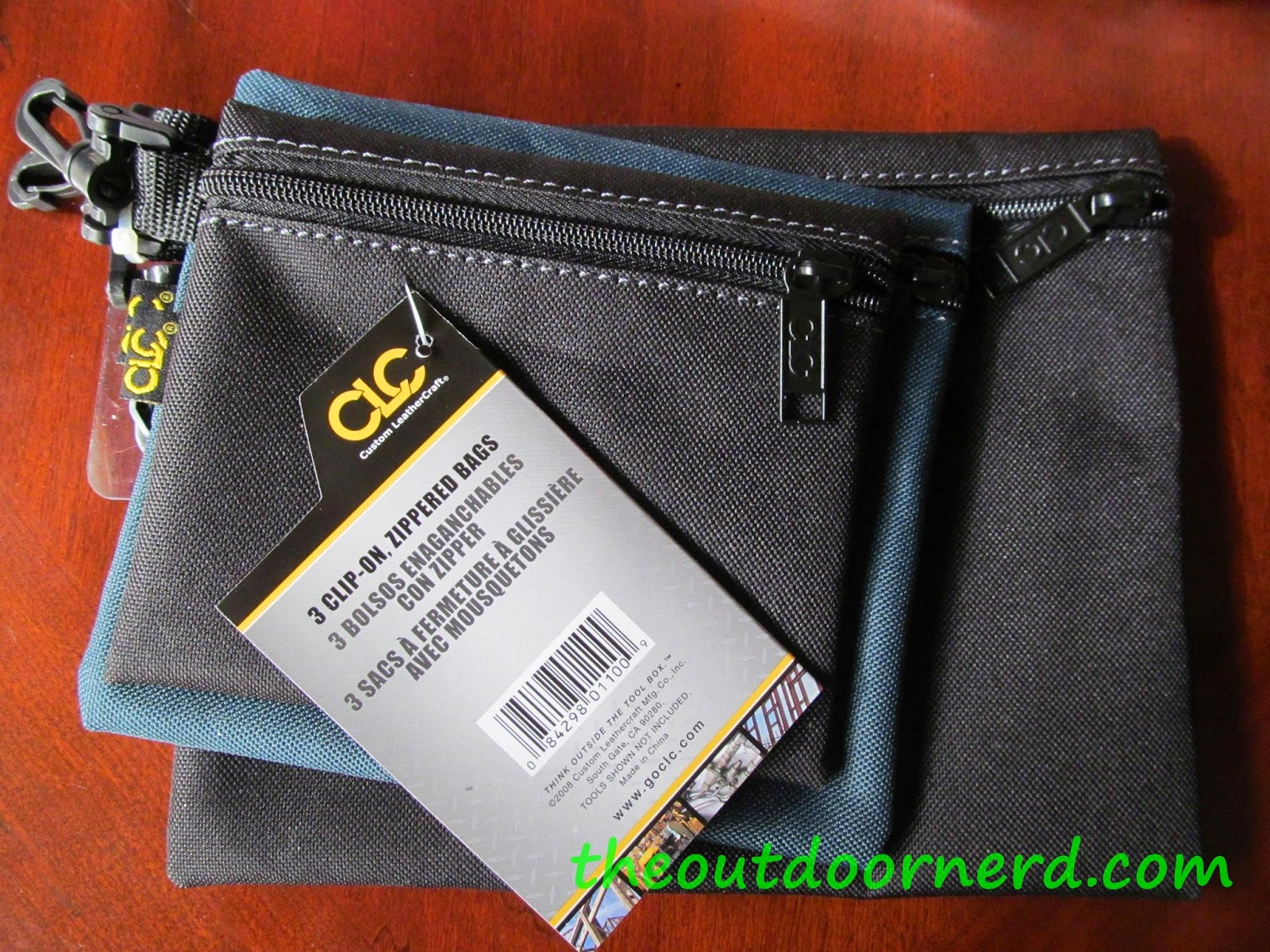 CLC Zippered Tool Pouches