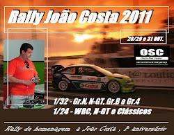 Rally João Costa 2011