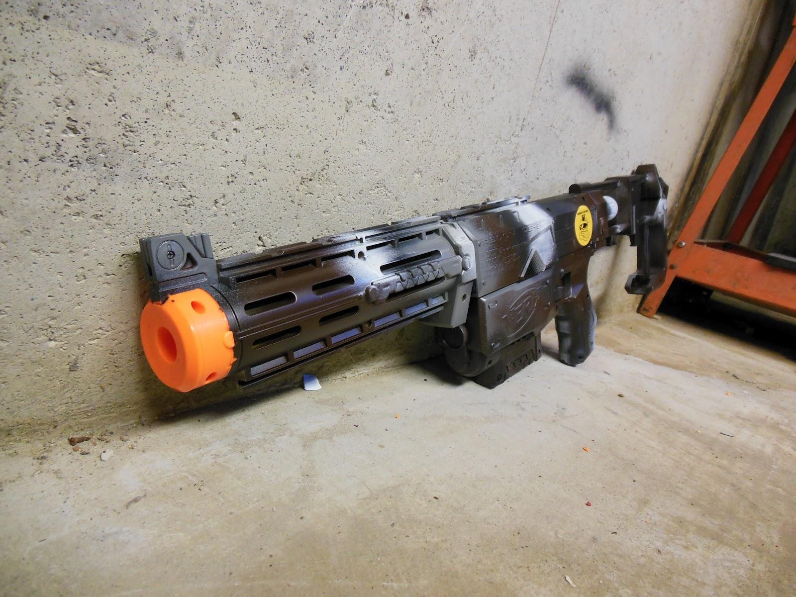 Lasagna678 Nerf Mods Urban Camo Recon