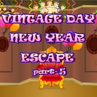 BigEscapeGames Vintage Day New Year Escape 5
