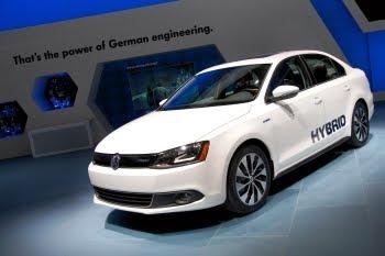 VW Jetta Hybrid auf der NAIAS 2012 in Detroit © Cornelia Schaible