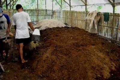 langkah cara membuat kompos
