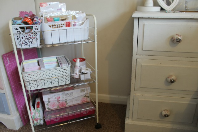 Chlos Thoughts My Scrapbook Cart