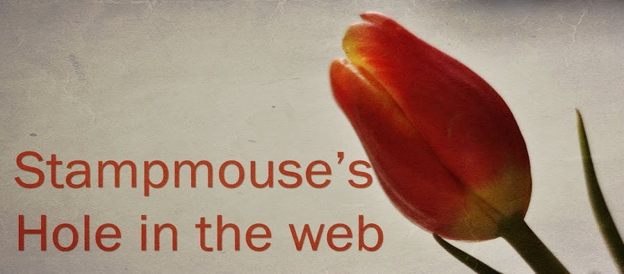 Stampmouse's hole in the web