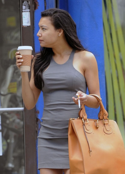 Naya Rivera Smoking