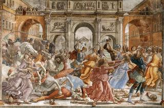 Domenico Ghirlandaio, Matanza de los inocentes