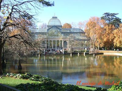 el paisaje de Madrid_el Palacio de Cristal del Parque del Retiro 6