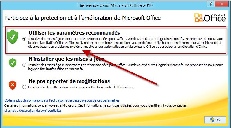 Personalisation d 39 office 2010 via gpo - Installer office famille et petite entreprise 2013 ...