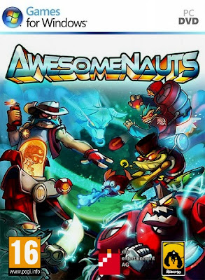 Awesomenauts PC Cover