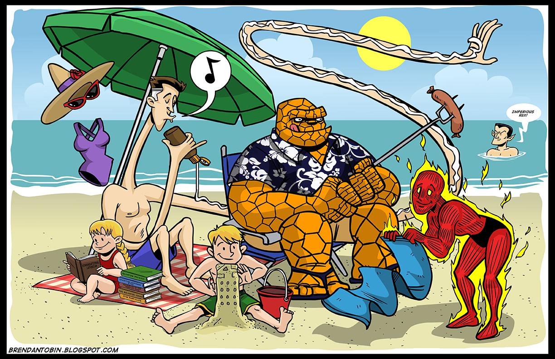 Comic Mash Up Endlich Urlaub Comics Total