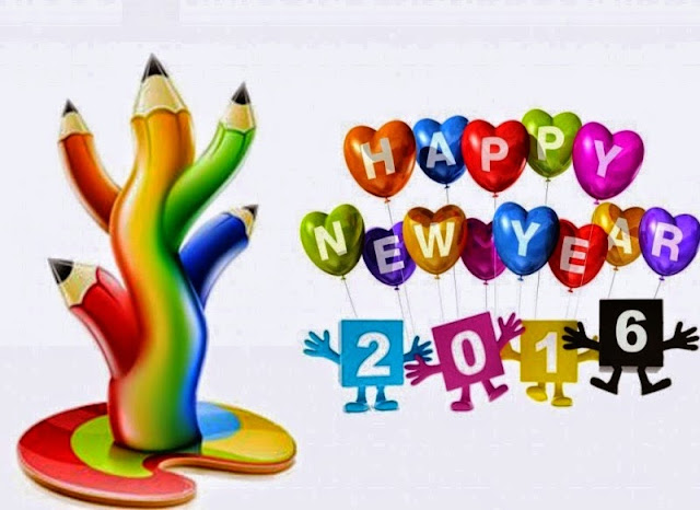Happy New Year 2016 HD wallpapers for whats app status