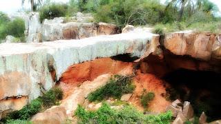 Close da Ponte de Pedra, em Alegrete, RS