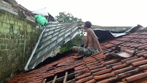 Angin Puting Beliung Dan Hujan Es Terjang Wilayah Kabupaten Bogor