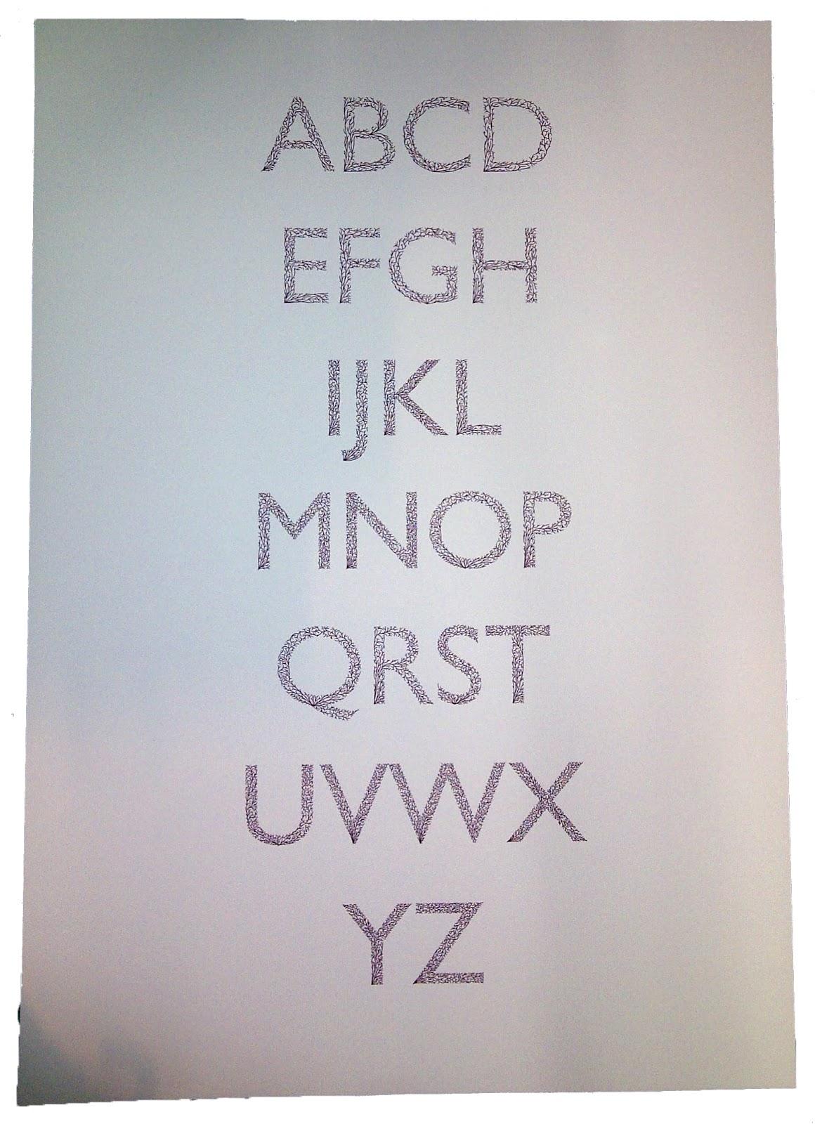 Design Practice Ougd403 Dissect Typeface On Illustrator