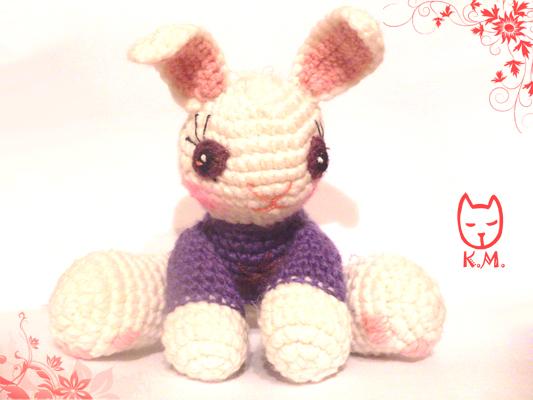 Класс по вязанию зайчика на babybabies ru
