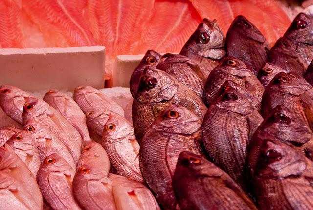 Mercato del pesce - particolare