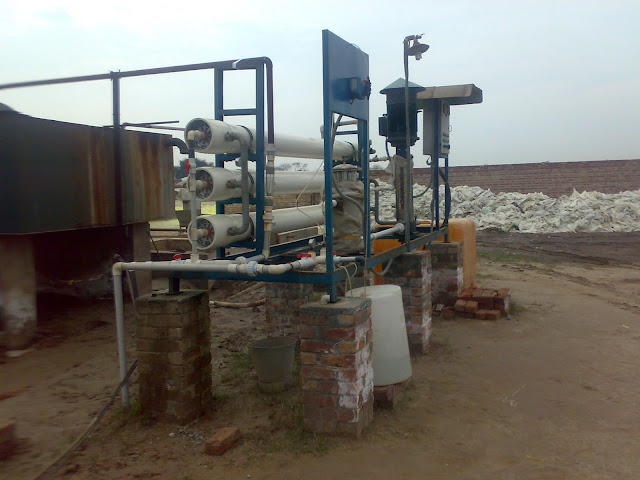 Reverse osmosis water plant images / 9000 liter/ 9 M.Ton hourly production