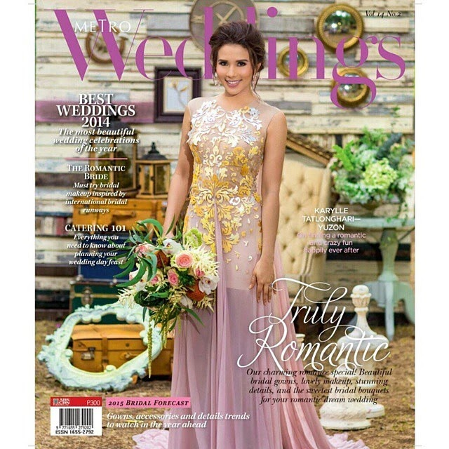 Karylle for Metro Weddings