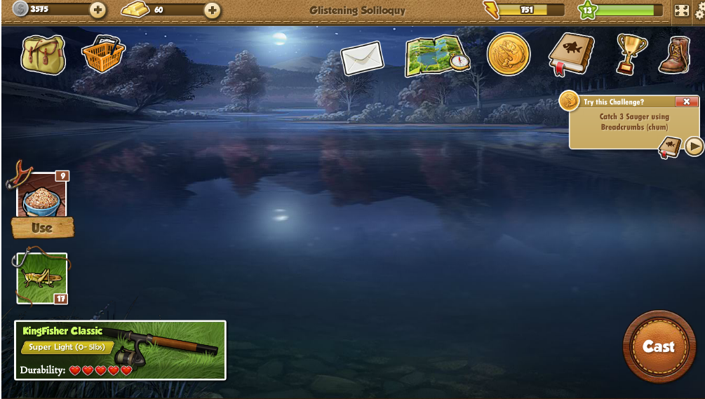 Fishing world fish catch cheat cit box for Facebook fish game