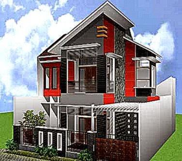 Desain Rumah 2 Lantai Bera Minimalis