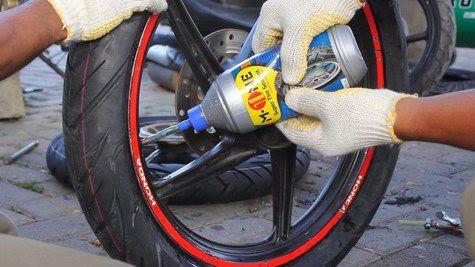 Cara Membuat Ban Sepeda Motor Anti Bocor