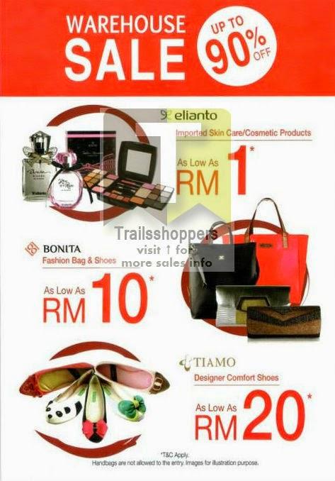 Bonita Elianto Tiamo Warehouse Sale @ Taman Shamelin Perkasa