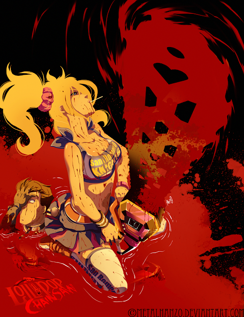 Lollipop Chainsaw por HeavyMetalHanzo