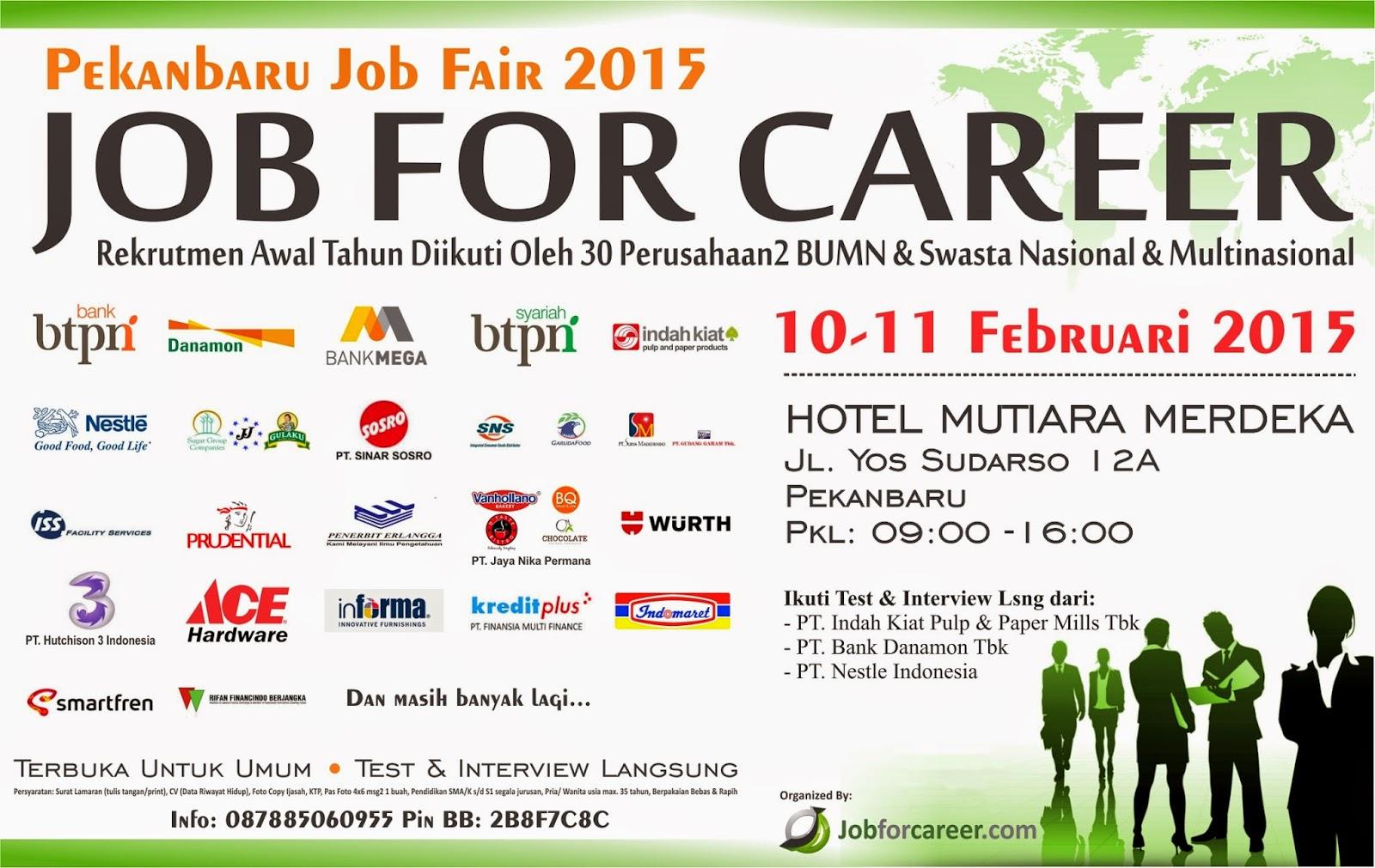 Pekanbaru Job Fair 2015