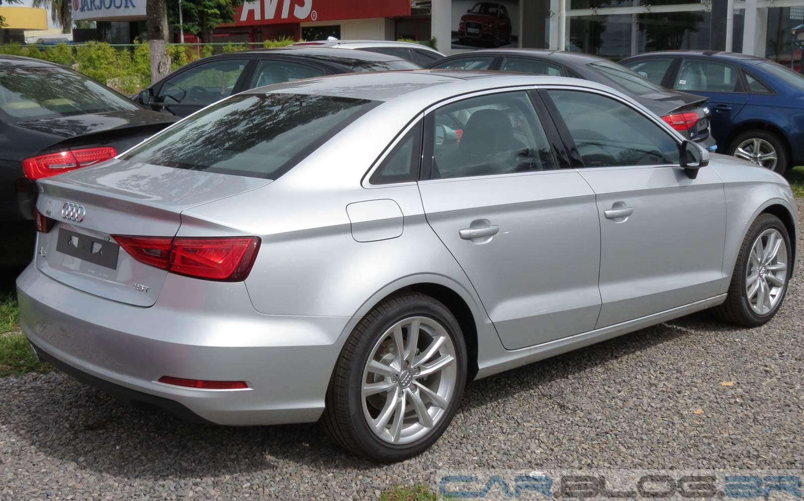 Novo Audi A3 Sedan 2014 - Prata