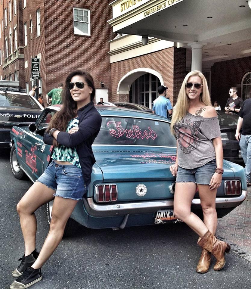 Road Trip: Team Mustang Girls Cassidy Magazine?