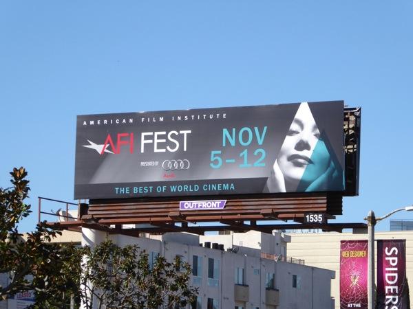 AFI Fest 2015 billboard