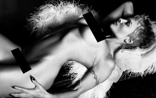 "Pamela Anderson se desnuda para ""Purple Magazine"""