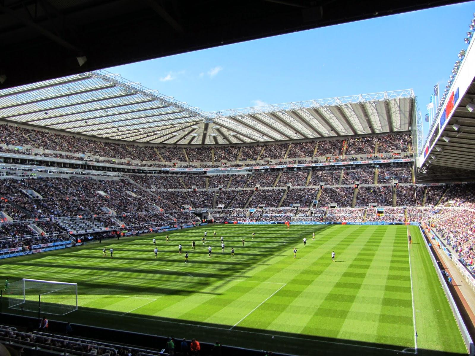 Groundhopper United: 2014 Ground #7 - St James' Park ...