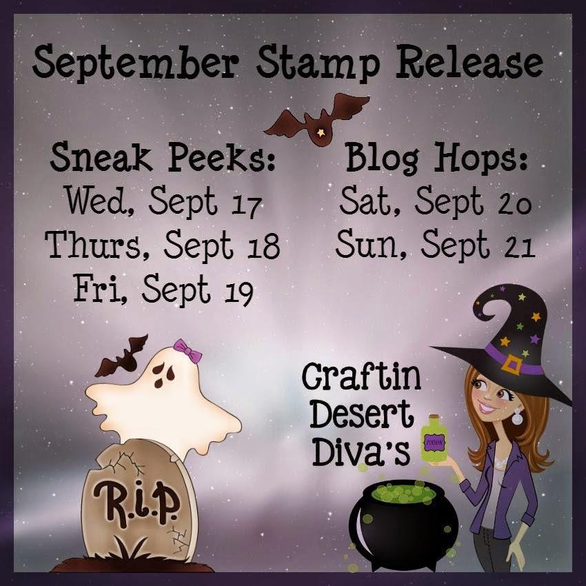 September Stamp Release